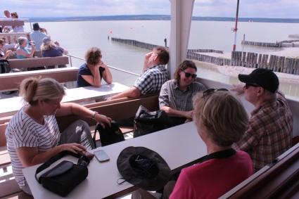Exkursion mit dem Schiff auf dem Neusiedler See